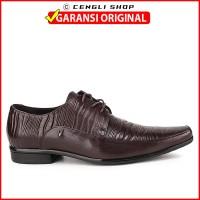 Sepatu Kulit Pria PLAYBOY Pantofel Branded Original Terbaru