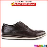 Sepatu Kulit Pria Jim Joker Original Pantofel Whel 1Caz