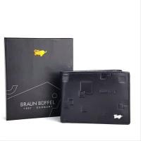 Dompet Pria KULIT ASLI Import BRANDED Best seller - BRAUN BUFFEL MIN