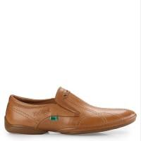 Sepatu Pantofel Kulit Kickers Original Tan