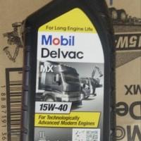 Oli Mesin Diesel Truk Mobil One Delvac MX 15W-40 1 Liter Original