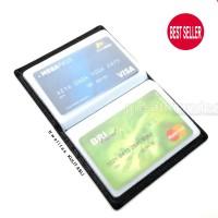 Dompet Kartu ATM SIM KTP Card Holder Kulit ASLI Import Premium BEST