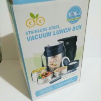 [Murah] Gig Stainless Steel Vacuum Lunch Box