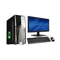 PC intel Rakitan CORE i.5 Ram 16 gb Murah plus led LG key mousr sia