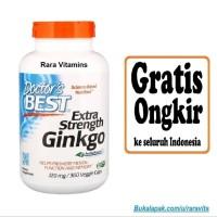 promo Doctors Best Extra Strength Ginkgo 120 mg isi 360 Veggi