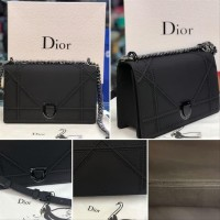 SUPER BEST SELLER DIORAMA Bag in CALFSKIN Leather Mirror Quality Tas