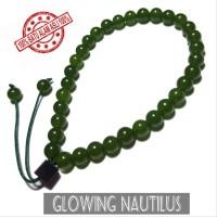 Gelang Pria Wanita Tasbih 33 Batu Asli Green Quartz 6mm