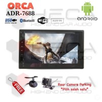 ORCA ADR-7688 Android 7 inch Head Unit Double Din Tape MURAH