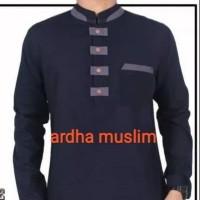 Baju koko terbaru trend 2019 toyobo kancing depan II fashion muslim