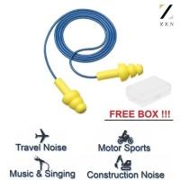 A_ZEN earplug ear plug silicone silikon corded ultra f