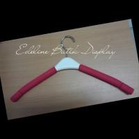 Terlaris - Gantungan Baju Hanger busa merah Dewasa