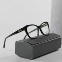 Kacamata Fasion Wanita Miu Miu Felysia Mirror Quality Black