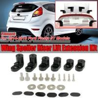 Spoiler Kit Riser Raiser Warna Hitam untuk Ford Fiesta ST Hatchback