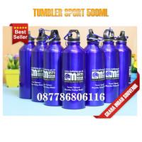 tumbler sport promosi | botol minum tumbler 500ml polos