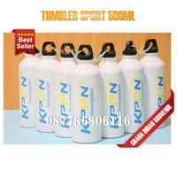 tumbler sport 500ml polos | botol tumbler promosi custom murah