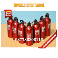 tumbler sport polos | botol minum 500ml murah