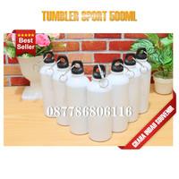 tumbler sport | botol minum murah | tumbler 500ml polos