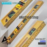 "Water Pass XANDER 20 / Waterpass 20"" / Penggaris 50 cm"