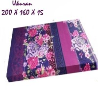 ROYAL FOAM Kasur Busa Royal no.2 size 200 x 160 x 15 cm