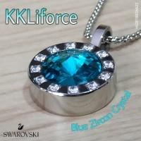 KKLiforce Blue Zircon Crystal
