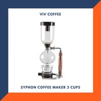 Syphon Coffee Maker - TCA 3 Cups