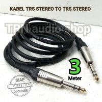 Kabel Sound Akai TRS Stereo to Akai TRS Stereo 3 meter