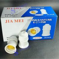 Fitting Gantung Jiamei 070 E27 + Pir / Per Murah Grosir / Eceran