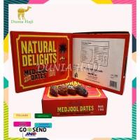 Kurma Medjool Dates California 1kg / Natural Delight / Kurma JUMBO