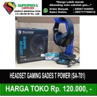 Headset gaming sades Sa-701 Tpower - Headset Sades T-power