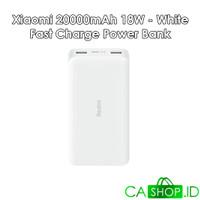 Xiaomi Redmi Power Bank 20000mAh 18W FastCharge ORI 100% GRS Resmi TAM