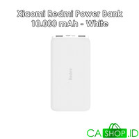 Xiaomi Redmi Power Bank 10000mAh Port Ganda ORI 100% GRS Resmi TAM