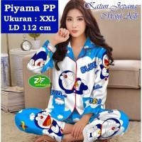 Piyama PP XXL - Katun Jepang / Baju Tidur Murah - Karakter Doraemon 01