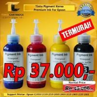 Tinta Pigment Korea 664 673 Ink Printer Epson L100 L110 L120 L200 L210
