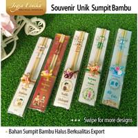 Souvenir Sumpit Bambu / Souvenir Unik