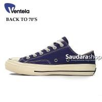 Sepatu Ventela BACK TO 70's Low Dark Navy / Ventela 70s Dark Navy Low