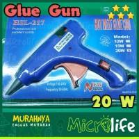 Glue Gun Alat Lem Bakar Cair 20 Watt