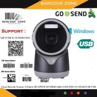 BARCODE SCANNER EPPOS EP-5000D 2D OMNI (QR CODE/PDF417/EFAKTUR) AUTO