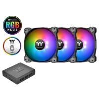 Thermaltake Pure Plus 12 RGB Radiator Fan TT Premium Edition - 3 Pack
