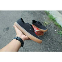 Sepatu Pria Sneakers Vans Authentic Sol Gum Kanvas Poxing Premium DT