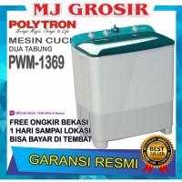 MESIN CUCI POLYTRON PWM 1369 10KG 2 TABUNG PWM 1369 10 KG PRIMADONA