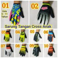 sarung tangan cross trail anak