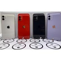 iphone 11 64gb second fullset mulus no minus - Black