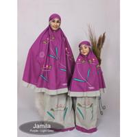 Mukena Couple Ibu dan Anak - Jamila - ANAK S