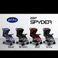 Stroller Pliko 287 Spyder Stroler Bayi Kereta Dorong Anak Bayi Murah