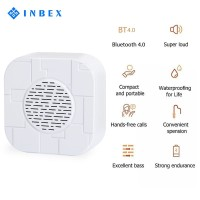 INBEX Mini Hifi Speaker/Fashion Stere Bass Speaker/Music Play Bluetoot