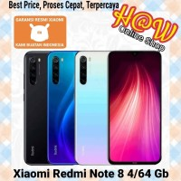 Xiaomi Redmi Note 8 Ram 4/64 Gb Garansi Resmi - BLACK