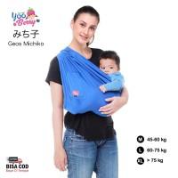 Geos YooBerry Michiko Gendongan Bayi Samping Baby Sling 0-3 Tahun