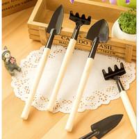 Alat berkebun mini set 3 in 1 sekop pacul mini kebun taman garden tool