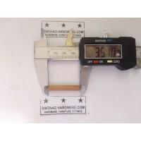 Dowel Kayu Bulat Ulir Diameter 6mm Panjang 35mm Paku Pasak Kayu /pcs