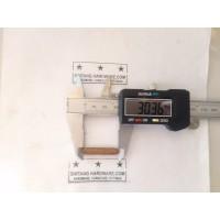 Dowel Kayu Bulat Ulir Diameter 6mm Panjang 30mm Paku Pasak Kayu /pcs